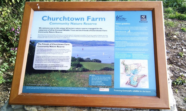 Churchtown notice