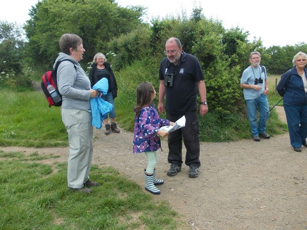 Butterfly walk with Gary Lewis