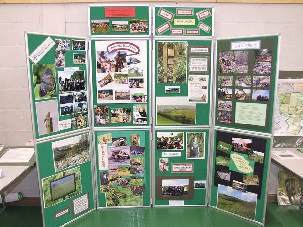 Display board for CWT AGM