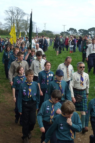 Scouts St Georges Parade